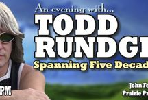TODD RUNDGREN The Hits Tour / See multi-faceted artist Todd Rundgren in an exciting new tour of his greatest hits, including I Saw The Light, Hello It's Me, Can We Still Be Friends, and Bang The Drum. Todd Rundgren is A Wizard, A True Star.