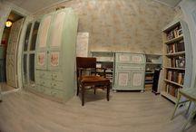 есть ли жизнь на чердаке ??? / покраска роспись и декор ВАШЕЙ старой мебели