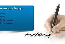 Article Writing At Android Infosystem / Android Infosystem is known for offering powerful article writing services. Our articles are highly engaging and mission-centric. Our writers understand the importance of quality content and its prominence for the search engines as well as web readers. They know that well calibrated and optimized articles can provide organic traffic to the company. This is why they provide effective, informative, productive and direction articles that have immediate call to action.  / by Android Infosystem