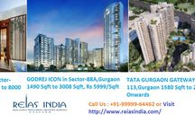 New property launches in Gurgaon / New property launches in Gurgaon has recently come from big name and reliable companies like Tata and Godrej. Projects like Tata's Gurgaon Gateway and Primanti are luxurious and grand, while projects like Godrej's Icon exemplify elegance.