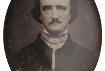 Quoth the Raven / Putting together an Etsy treasury http://www.etsy.com/treasury/NTIxNzIyOHw2MTY1ODg1NzM/portraits-of-poe