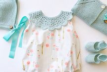 Babies' clothes inspiration and patterns