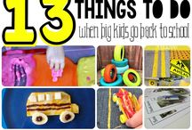 Younger kid activities / Things to do with younger kids to keep them active and busy during the day.