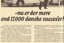 Denmark DOMI / Morris Marina (1100), Morris Marina GT (1300) & Stationcar (Traveller).