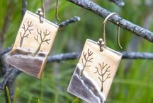 Handmade Earrings / Handmade earrings made from high quality silver / gold.