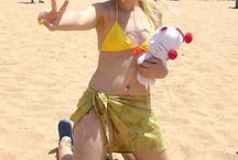 Rikku (Swimsuit) - FFX-2 / Her thief swimsuit.  #rikku #bikini #thief #finalfantasy #cosplay #rydia #beach