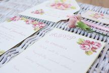 Paper Wedding - Spring is in the air! / Beautiful handmade designs by Paper Wedding. www.paperwedding.co.uk www.facebook.com/paperwedding