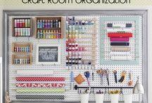 Storage ideas / For craft room
