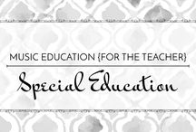 Special Education - Music Education {For the Teacher} / Tips and ideas to differentiate music and help special learners be successful #elmused #speciallearners #exceptionalchildren #EC