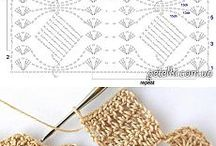 guardas y puntos crochet