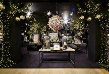 La Galerie Imaginaire / Installation féerique au Bon Marché pour Noël 2015.