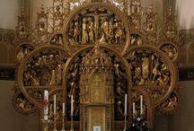 Church altar architecture