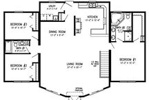 open floor plan modular homes