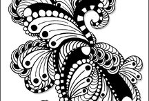 Zentangle/Doodle Art for Inspiration / by C Bradley