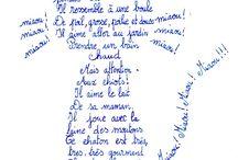 calligramme     calligraphie