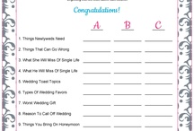 Bridal Shower/Bachelorette Ideas
