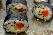Vegan sushi recipes