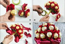 eva foam candy bouquet