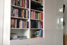 Bookcase and unite