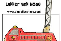 Fire Safety / Crafts and Learning Activities Relating to Fire Safety