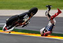 Stürze mit Motorrad