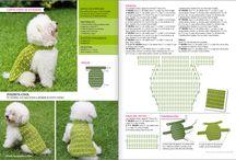 chaleco crochet perros