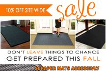 SALE FLYERS FOR FLOORMATSHOP.COM / Check our our current promotions on this board