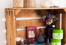 DIY Cajas de madera / Cosas que puedes hacer con las cajas de la fruta y/o verdura / by Jess Gon Sas