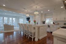 White Marble Kitchens