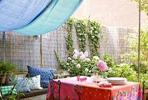 Rooftop terrace / Garden outdoors summer bar