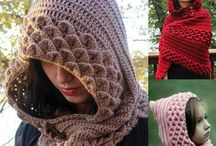 Hobby knits and crochet / Needle work, knits etc