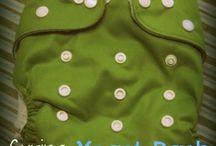 Cloth diapering / by Bridget Green