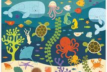 Under the sea  illustrations