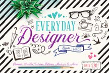 The Everyday Designer Bundle Vol. 03 / Includes 18 amazing packs with over 4000 elements, textures, patterns, templates, mockups and toolkits to satisfy all your creative needs!! Grab them all at a massive savings of 95% off!!  As with all bundles sold on TheHungryJPEG.com, our Complete License comes included, at no extra cost.