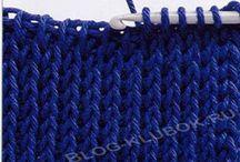 Вязание тунисское