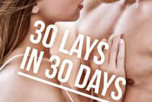 30 Lays in 30 Days / The visual inspirations behind the book 30 Lays in 30 Days, available on July 23, 2015 - order it now: http://momentumbooks.com.au/books/30-lays-in-30-days/