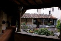 Convento san Francesco ed inaugurazione Mostra Isole del pensiero a Fiesole