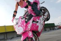 Women motorcycle