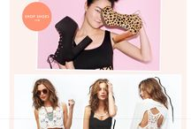 fashion e-commerce layout