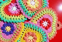 Crochet - Kitchen & Bath / potholders, towel toppers, dishcloths, scrubbies, washcloths, coasters, mug cozies / by Julie Keesee