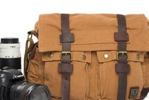 DSLR Camera Bag Vintage Canvas bag / Canvas women bag school bag leather retro fashion handmade bag