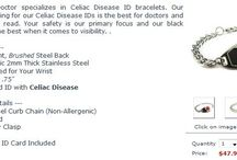 Celiac Disease Bracelet / Celiac is an allergic reaction to gluten that severely affects digestive system enabling it to consume other minerals and nutrients. One of the best ways to bring light to celiac disease awareness is by wearing celiac awareness bracelet that let people know about your condition.