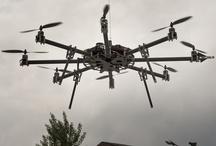 Photographs of UAV Octofly A3500 / Immagini del multirotore OctoFly A2500 all'opera #uav #multirotors
