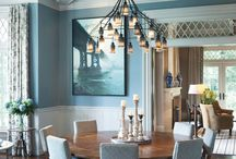 Lake house lighting / by Mindy Dawes