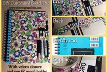 Organize My Coloring Art Supplies