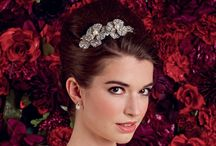 Our Headpieces  / Collection of headpieces available to try on and order at Grace Couture