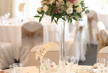 Wedding Flowers / A selection of flower ideas from weddings here at Crockwell