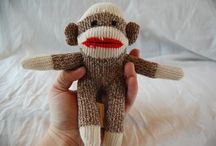 Sock Monkeys on My Mind / Sock Monkeys of All Kinds, All the Time!