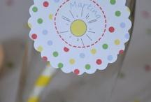 Un cumple lleno de arcoiris / Diseño para el cumpleaños de Martina