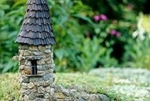 Fairy Houses / Magical dwellings for magical beings.